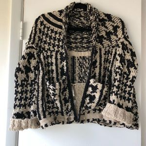 NWT cropped cardigan by Free People. Brand new
